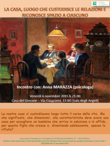 INCONTRO ANNA MARAZZA