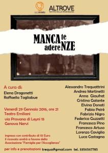 Mancate Aderenze Locandina