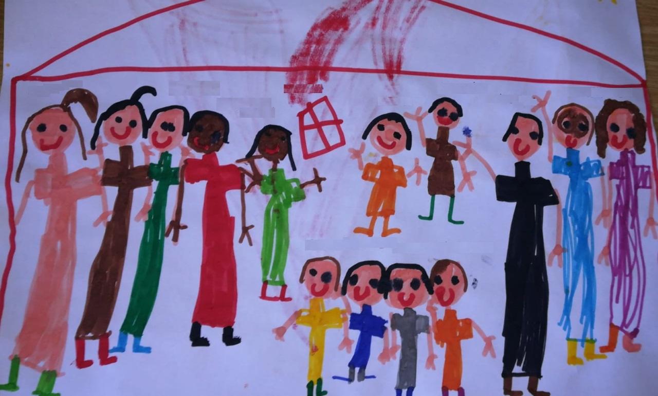 Disegno dei bambini di Chiara - Firenze